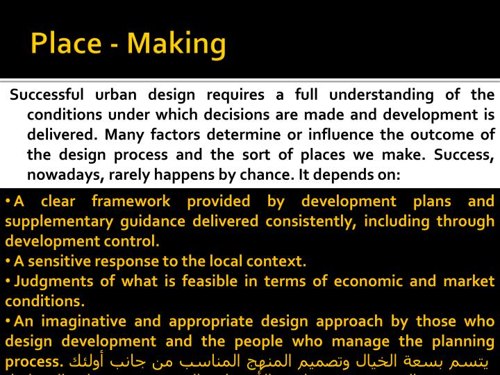 Place - Making