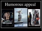 humorous appeal