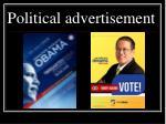 political advertisement