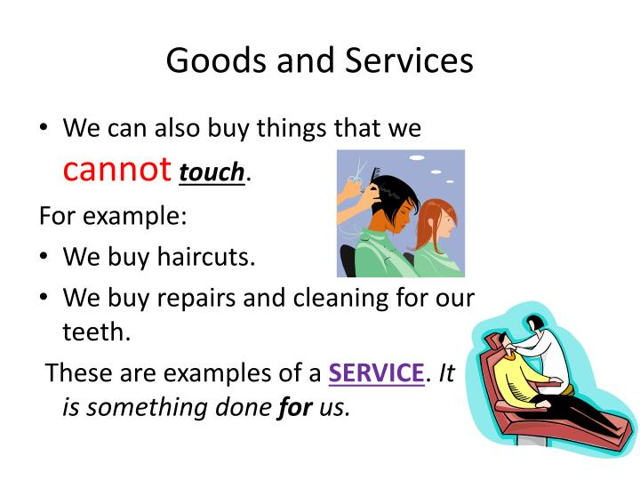 Ppt Goods And Services Powerpoint Presentation Id6845427