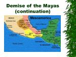 demise of the mayas continuation2