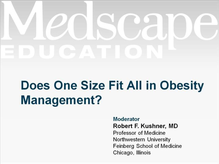 does one size fit all in obesity management n.