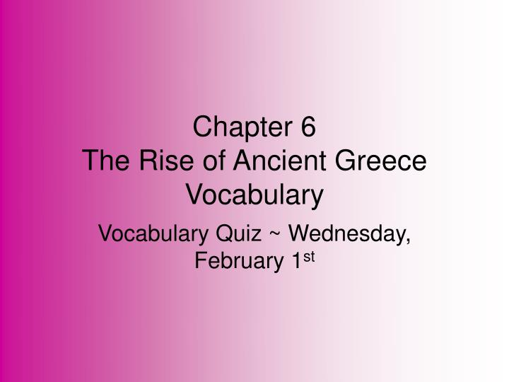 chapter 6 vocabulary 6th grade math vocabulary answers  chapter 6 composite number: a whole number greater than 1 with more than 2 whole-number factors greatest common factor.