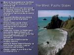 the west pacific states
