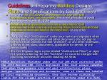 guidelines in preparing building designs plans and specifications by civil engineers
