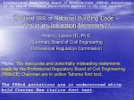 revised irr of national building code why is an injunction necessary