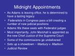 midnight appointments