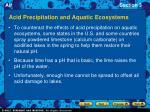acid precipitation and aquatic ecosystems2