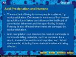 acid precipitation and humans1