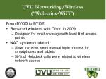 uvu networking wireless wolverine wifi