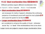 11 4 2 ideal reverberation time