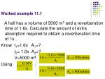 worked example 11 1