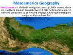 mesoamerica geography