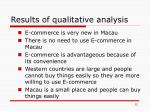 results of qualitative analysis1