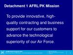 detachment 1 afrl pk mission