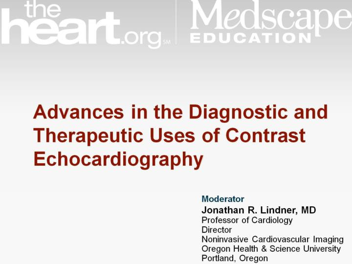 advances in the diagnostic and therapeutic uses of contrast echocardiography n.