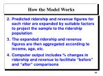 how the model works1
