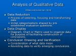 analysis of qualitative data miles and huberman 1994