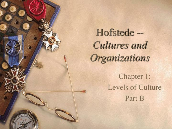hofstede cultures and organizations n.