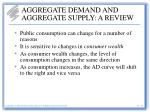 aggregate demand and aggregate supply a review10