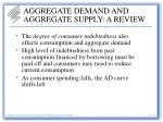 aggregate demand and aggregate supply a review12
