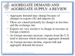 aggregate demand and aggregate supply a review17
