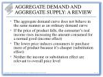 aggregate demand and aggregate supply a review2