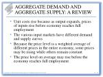 aggregate demand and aggregate supply a review23