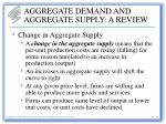 aggregate demand and aggregate supply a review25