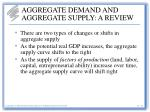 aggregate demand and aggregate supply a review27