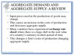 aggregate demand and aggregate supply a review29