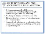 aggregate demand and aggregate supply a review3