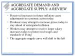aggregate demand and aggregate supply a review31