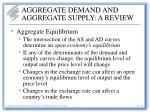 aggregate demand and aggregate supply a review32