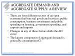 aggregate demand and aggregate supply a review9