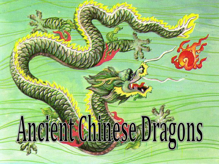 ancient chinese dragons n.