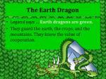 the earth dragon