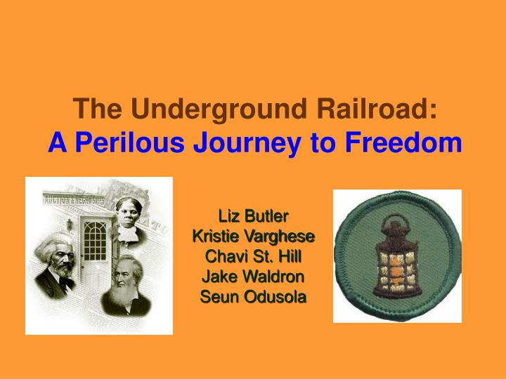 the underground railroad a perilous journey to freedom n.