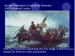 george washington crossing the delaware 1851 emanual leutze