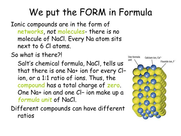 We put the FORM in Formula