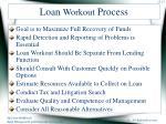 loan workout process