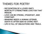 themes for poetry1