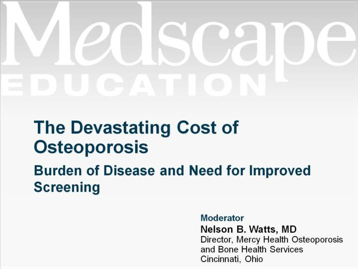 the devastating cost of osteoporosis n.