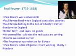 paul revere 1735 1818
