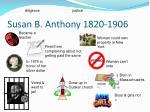 susan b anthony 1820 1906