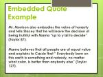 embedded quote example1