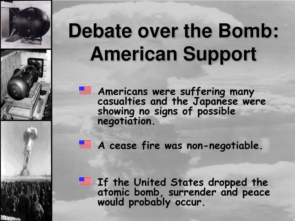 PPT - The Dropping of The Atomic Bomb at Hiroshima and ...