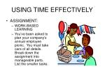 using time effectively14