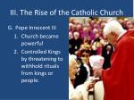 iii the rise of the catholic church9