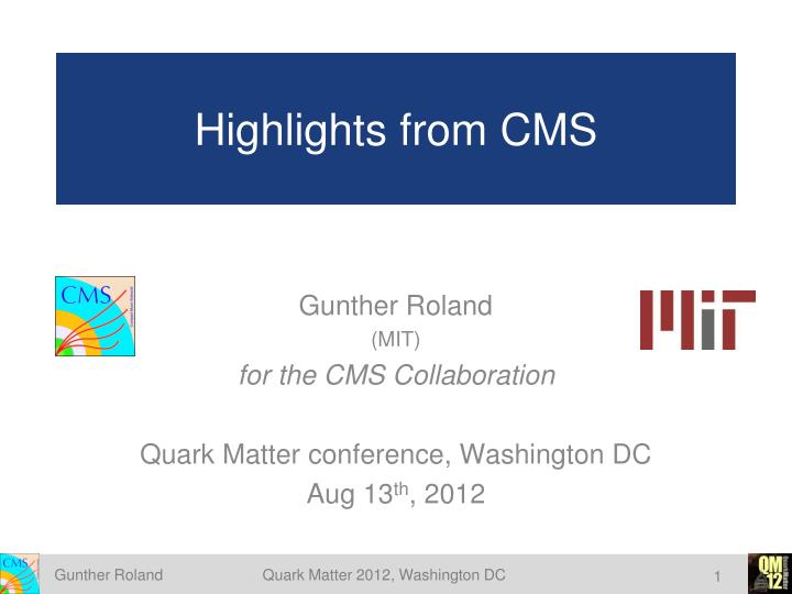 highlights from cms n.